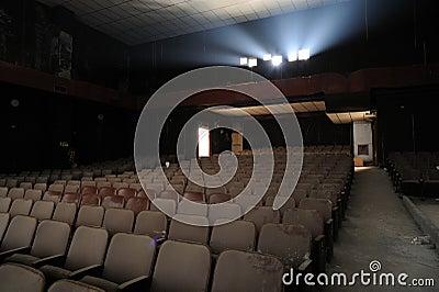 Ruin of cinema