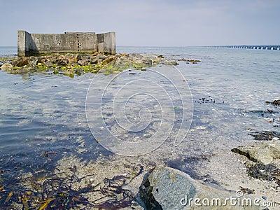 Ruin in Denmark