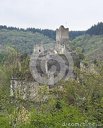 Ruin in the Eifel