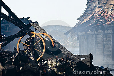 Ruin after fire!