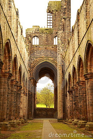 Ruin of Kirkstall Abbey