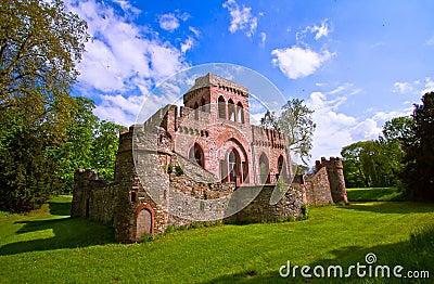 Ruin of the Mosburg Castle
