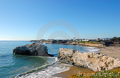 Ruin of Natural Bridge, Santa Cruz, California