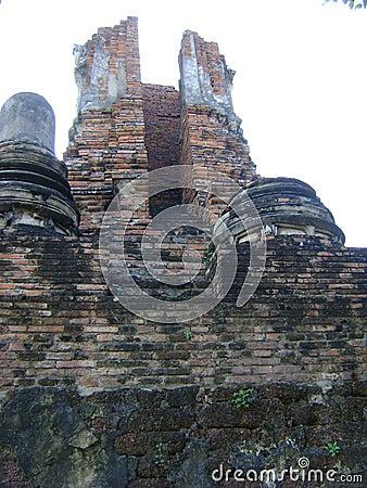 Ruin Pagoda of Ayutthaya, Thailand