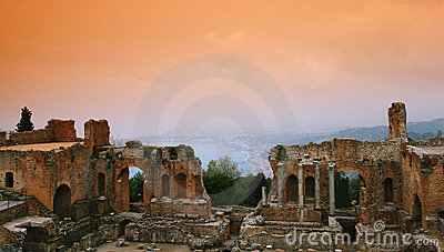 Ruin from Sicily