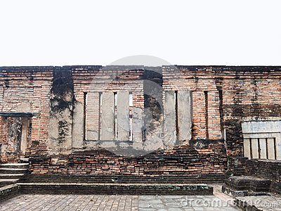 Ruin wall