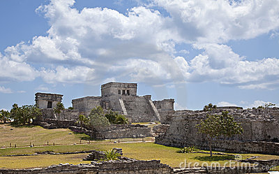 Ruina maya en Tulum