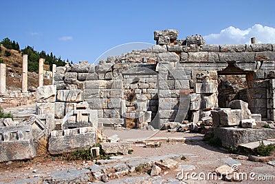 Ruinas antiguas del ephesus