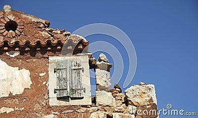Ruine de maison