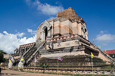 Ruine de point de repère, Chiang Mai