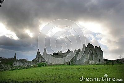 Ruined Abbey, Ireland