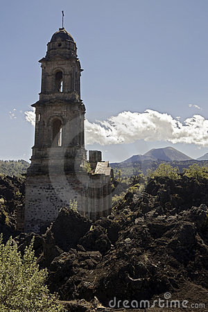 Free Ruined Church, Mexico Royalty Free Stock Photography - 13204897
