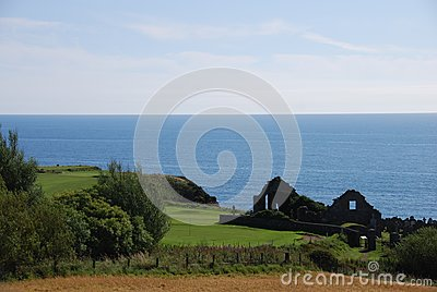 Ruined Church at Stonehaven