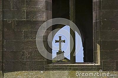Ruined cross