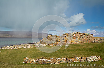 Ruined Iron-age Broch