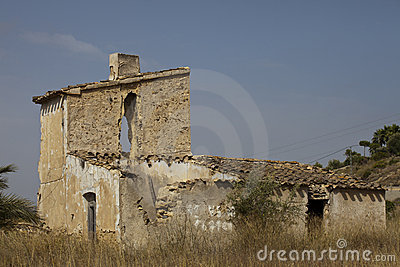 Ruined Spanish House
