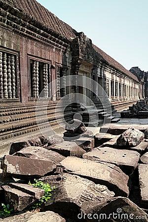 Ruined Stones at Angkor Wat