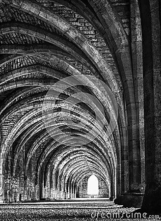 Ruinen der Brunnen-Abtei