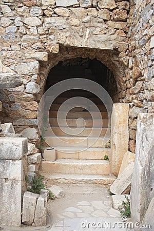 Ruinen von Ephesus, die Türkei
