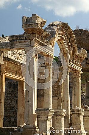 Ruines antiques dans Ephesus