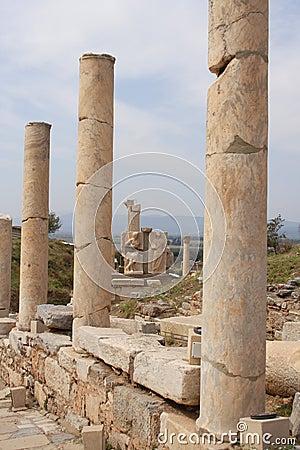 Ruines d Ephesus, Turquie