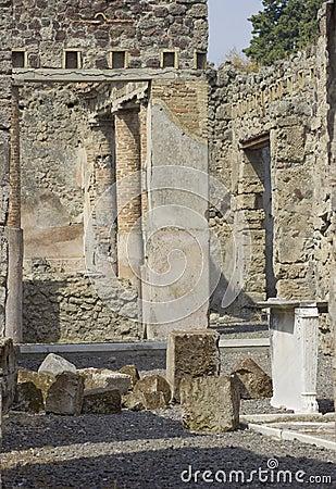 Ruines de civilisation