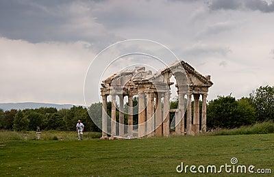 Ruins of afrodisias Tetrapylon