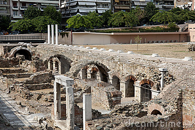 Ruins of Ancient Agora, Thessaloniki