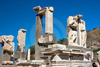 Ruins of ancient Ephesus