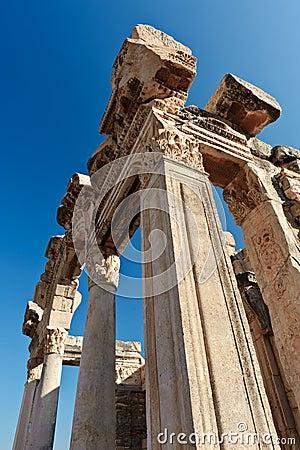 Ruins of ancient Ephesus