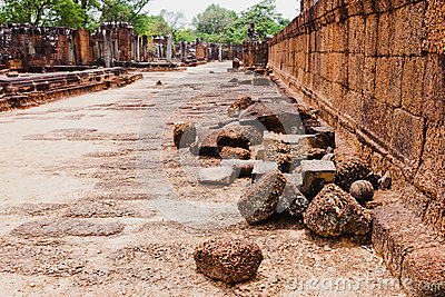 Ruins of Ancient khmer civilization, Angkor Wat, Cambodia