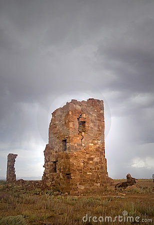 Ruins of an ancient observatory
