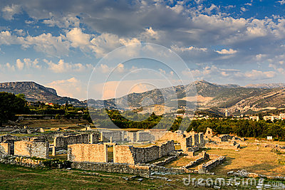 Ruins of Ancient Town of Salona