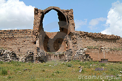 Ruins of an armenian kingdom