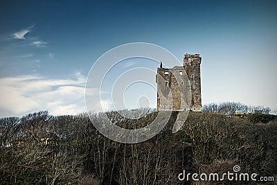 Ruins of Ballinalacken Castle