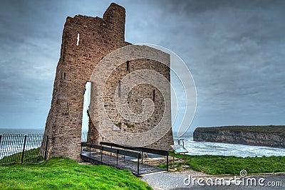 Ruins of Ballybunion castle