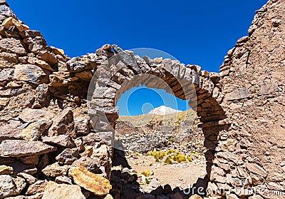 Ruins in Bolivia