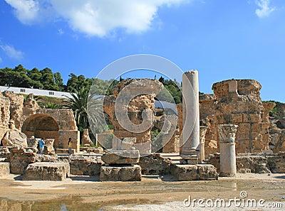 Ruins in Cartage