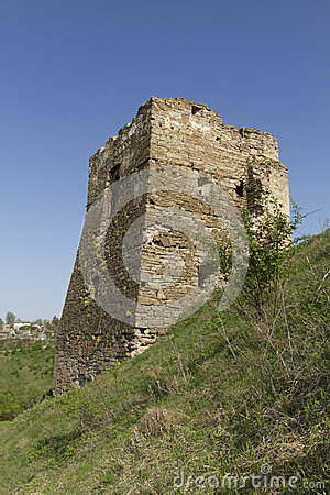 Ruins of the castle tower