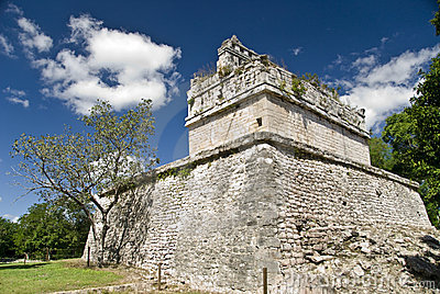 Ruins at Chichen Itza Mexico