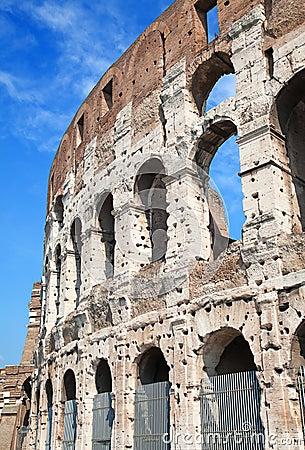 Ruins of the colloseum