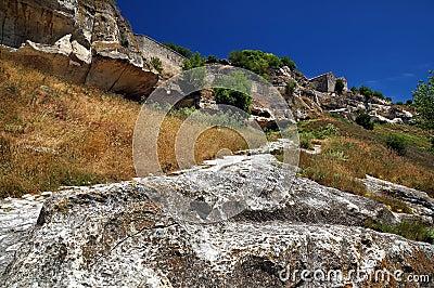 The ruins of the Crimea