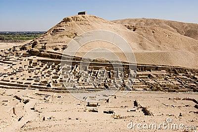 Ruins of Deir el Medina, Luxor