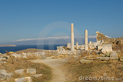Ruins of Delos, Greece