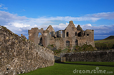 The Ruins of Dunluce Castle