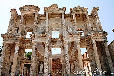 The ruins of Ephesus Turkey