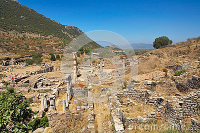 Ruins of Ephesus. Turkey