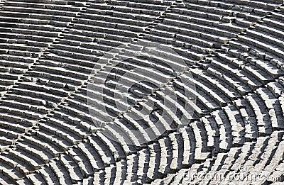 Ruins of Epidaurus amphitheater