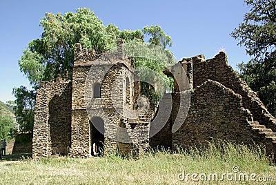 Ruins in Ethiopia