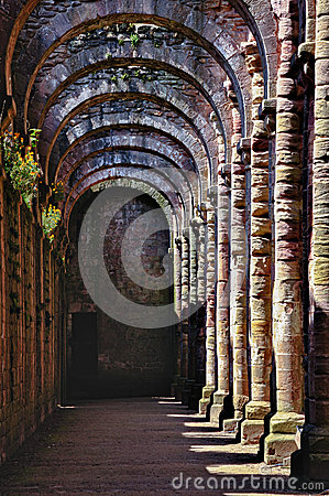 Ruins Of Fountains Abbey